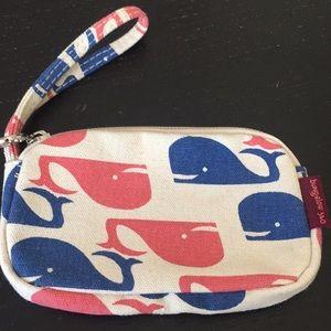 Cute Whale card and coin pouch